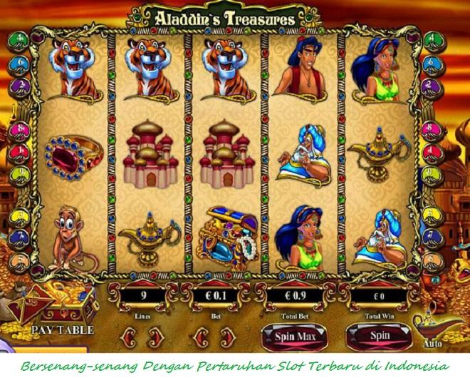 Bersenang-senang Dengan Pertaruhan Slot Terbaru di Indonesia